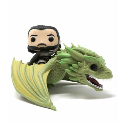 FUNKO POP RIDES Game of Thrones Jon Snow & Rhaegal figura
