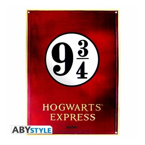 HARRY POTTER Hogwarts Express fém plakát