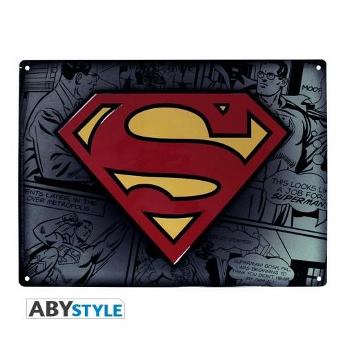 DC COMICS Superman fém plakát