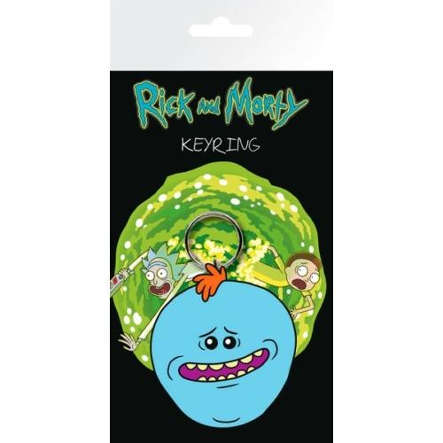 Rick and Morty Mr Meeseeks kulcstartó