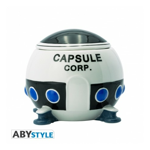 DRAGON BALL Capsule Corp spaceship 3D bögre