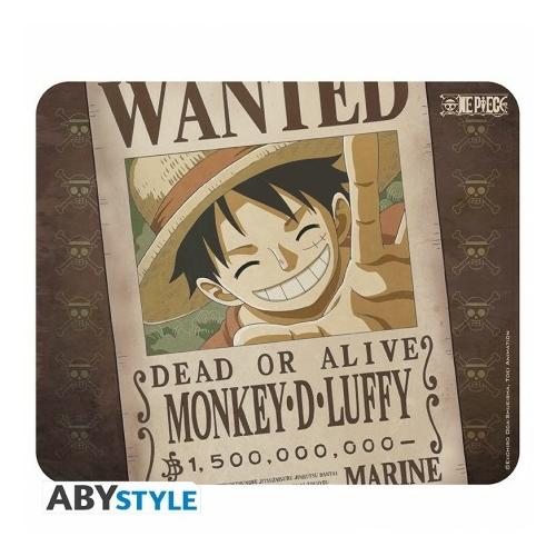 ONE PIECE Flexi egérpad Wanted Luffy
