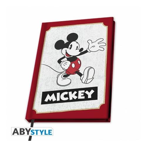 DISNEY A5 jegyzetfüzet Mickey