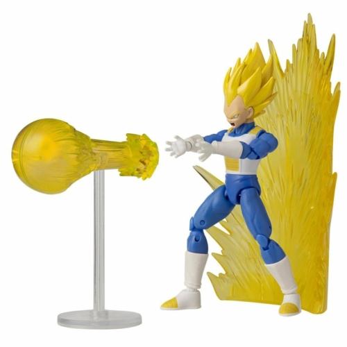 DRAGON BALL SUPER Dragon Stars Super Saiyan Vegeta power up pack mozgatható figura