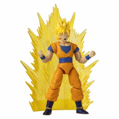 DRAGON BALL SUPER Dragon Stars Super Saiyan GOKU power up pack mozgatható figura