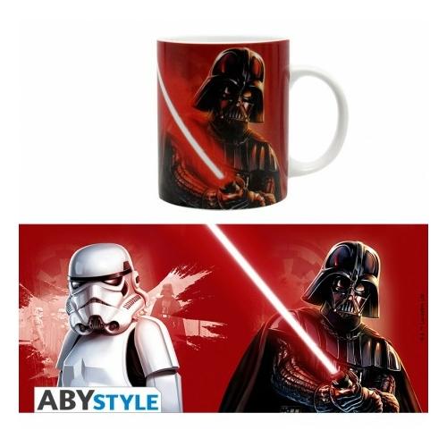 STAR WARS Vader & Trooper bögre 320 ml