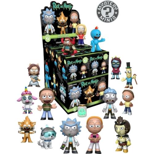 FUNKO Mystery Mini: Rick and Morty Series 2 POP Vinyl figura 5 cm