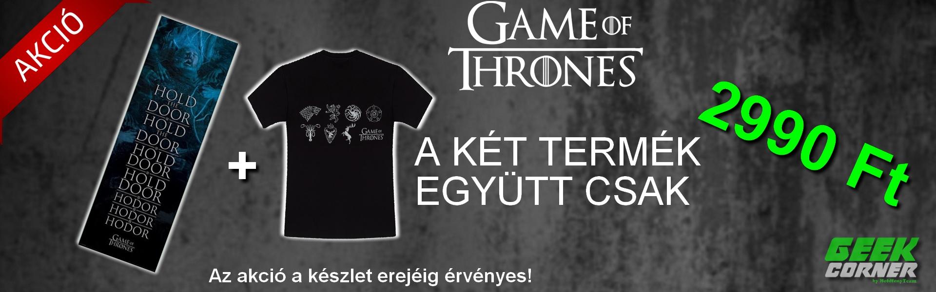 Game of Thrones akciós ajánlat