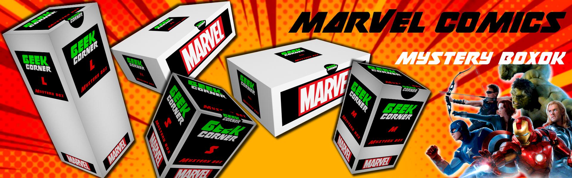 Marvel Mystery boxok