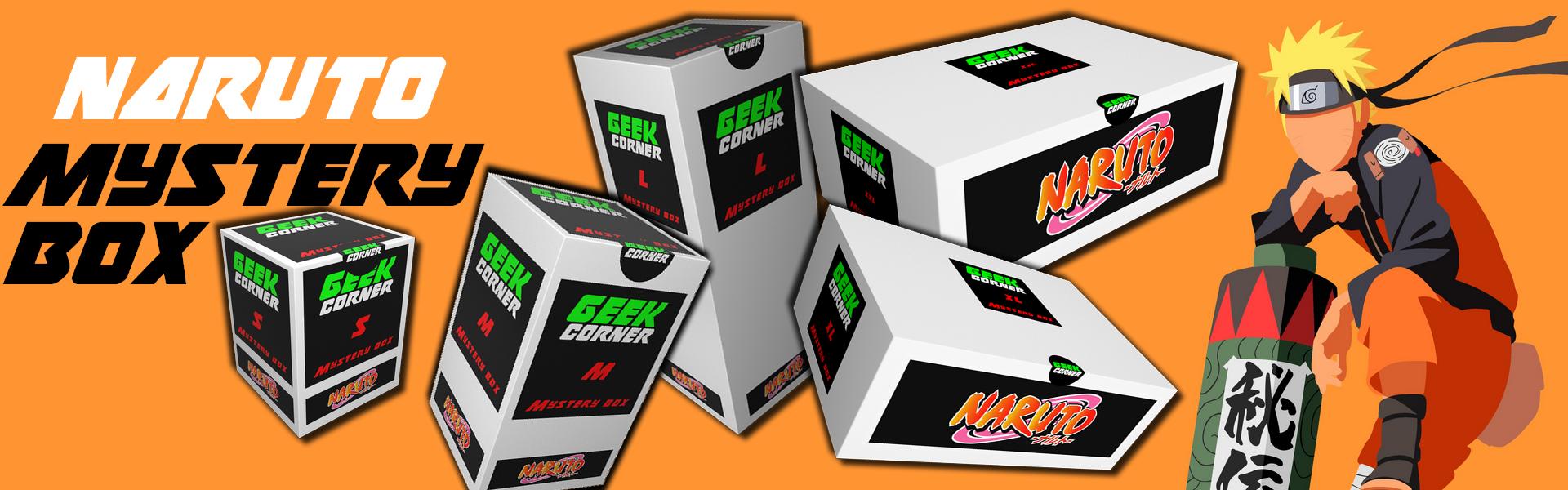 Naruto mystery boxok