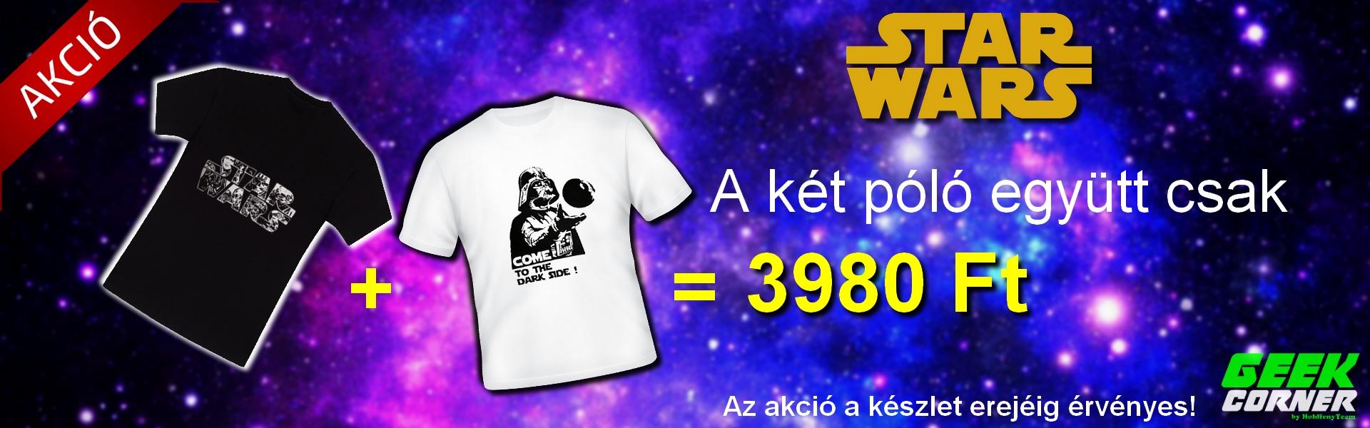 Star Wars póló akció