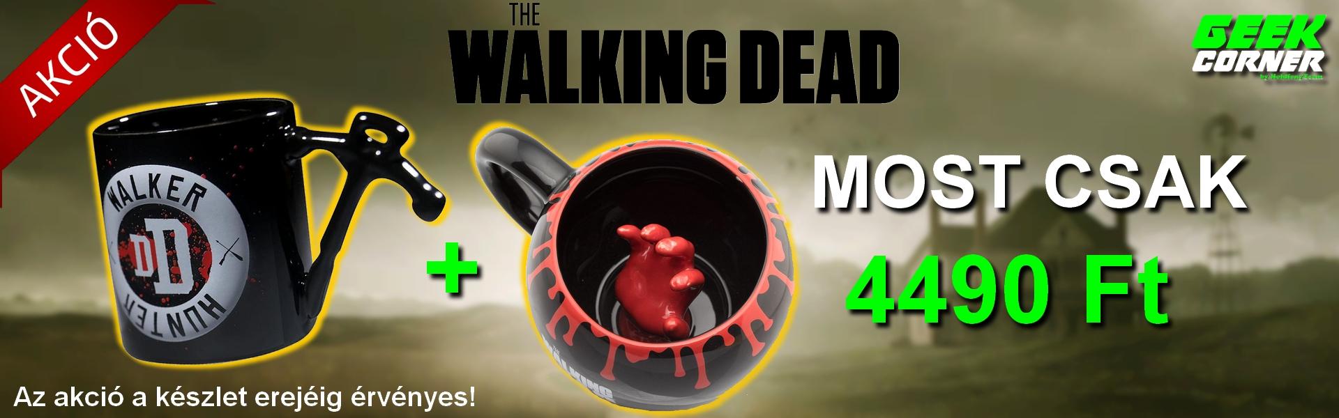 Walking dead akció